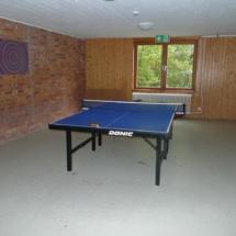 Tischtennisraum Nachthaus