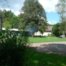 Taghaus, Leiterhäusle, Nachthaus (von links)