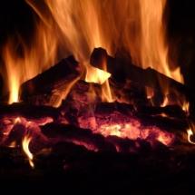 Lagerfeuer an der Haslachmühle
