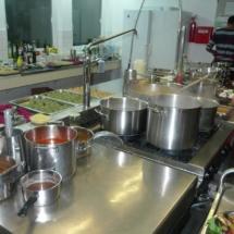 Professionelle Großküche