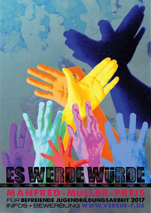 Manfred-Müller-Preis 2017 Plakat