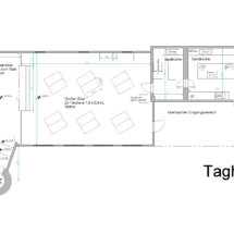 Grundriss Taghaus